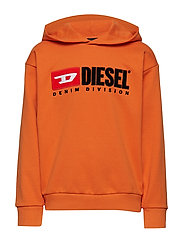 SDIVISION OVER SWEAT-SHIRT - HARVEST PUMPKIN