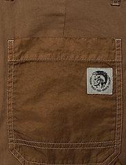 Diesel - PTRENT TROUSERS - trousers - sandy brown - 4