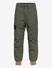 Diesel - PLEVOKI TROUSERS - trousers - olive night - 0