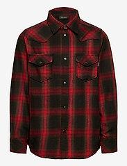 Diesel - CBONNY SHIRT - shirts - tango red - 0