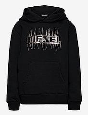 Diesel - SGIRKHOODJ1 OVER SWEAT-SHIRT - hoodies - nero - 0