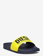 Diesel - MAYEMI SA-MAYEMI CH SANDALS - pool sliders - peacoat blue/blazing yellow - 0