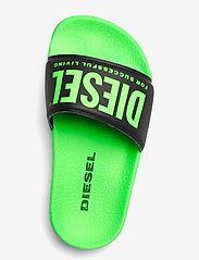 Diesel - MAYEMI SA-MAYEMI CH SANDALS - pool sliders - green fluo/black - 3