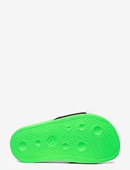Diesel - MAYEMI SA-MAYEMI CH SANDALS - pool sliders - green fluo/black - 4