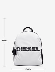 Diesel - BOLDMESSAGE  BOLD BACKPACK - backpa - reput - black/white - 2