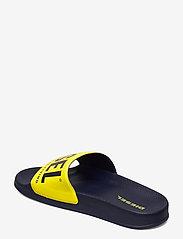 Diesel - MAYEMI SA-MAYEMI YO SANDALS - pool sliders - peacoat blue/blazing yellow - 2