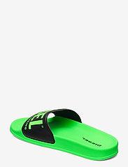 Diesel - MAYEMI SA-MAYEMI YO SANDALS - pool sliders - green fluo/black - 2