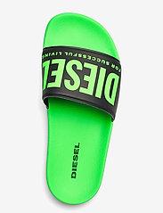Diesel - MAYEMI SA-MAYEMI YO SANDALS - pool sliders - green fluo/black - 3