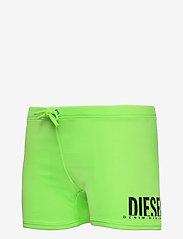Diesel - MOKY KID BEACHWEAR - badehosen - green fluo - 1