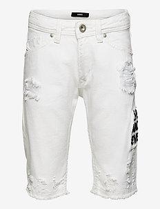 DARRON-R-J SH-N SHORTS - shorts - bianco
