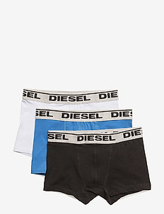 UGOV THREE-PACK US BOXER -SHORTS - BLUETTE+BLACK+WHITE