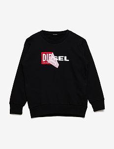 SALLY OVER SWEAT-SHIRT - sweatshirts - nero