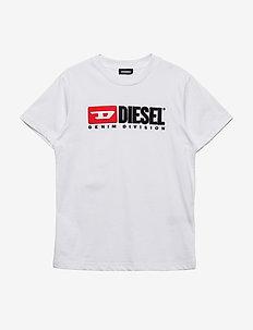 TJUSTDIVISION T-SHIRT - short-sleeved - bianco