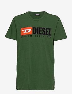 TJUSTDIVISION T-SHIRT - DARK GREEN