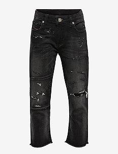 ARYEL-J JJJ TROUSERS - jeans - denim nero