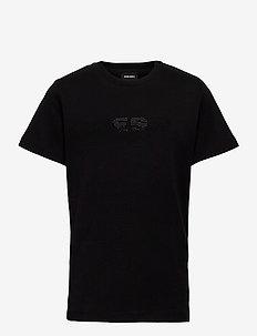 TJFLAVIAY T-SHIRT - short-sleeved - nero