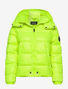 JIAN JACKET - veste rembourrée - bright yellow