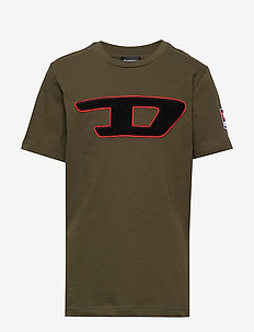 TJUSTDIVISION-D T-SHIRT - OLIVE NIGHT