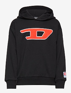 SDIVISION-D OVER SWEAT-SHIRT - NERO
