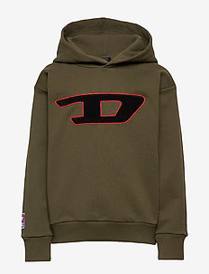 SDIVISION-D OVER SWEAT-SHIRT - OLIVE NIGHT