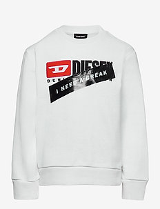 UN-K-SCREWDIVISION-A SWEAT-SHIRT - BIANCO