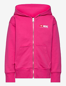 SALBYZIP OVER SWEAT-SHIRT - hoodies - fuchsia purple