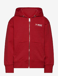 SALBYZIP OVER SWEAT-SHIRT - hoodies - red