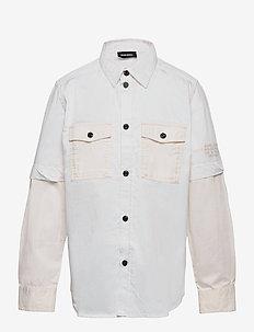 CSKOSOV OVER SHIRT - shirts - vapourous gray