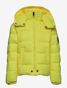 JSMITHYAWH JACKET - puffer & padded - super bright yellow