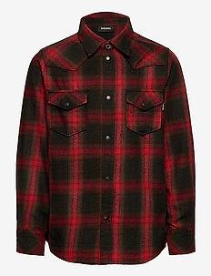 CBONNY SHIRT - shirts - tango red