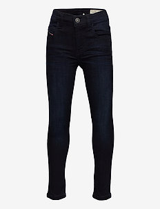 D-SLANDY-HIGH-J TROUSERS - jeans - denim