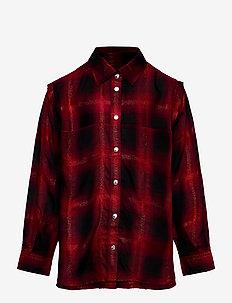 CSUNNYA SHIRT - shirts - red