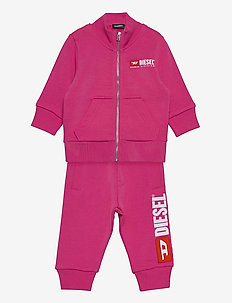 SOLLYB-SET OVERALLS - FUCHSIA PURPLE