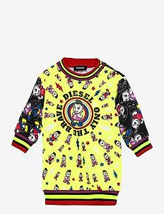 DISSAB DRESS - sweatshirts - nero
