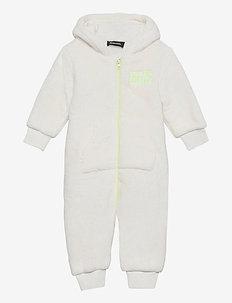 JOTTYB-SKI JACKET - fleecetøj - bianco sporco