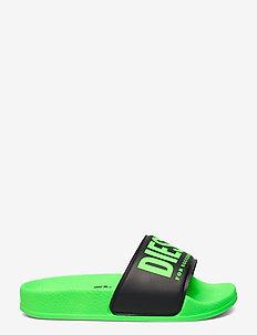 MAYEMI SA-MAYEMI CH SANDALS - pool sliders - green fluo/black
