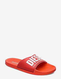 A-LOHAA  FF 01 SLIPPER YO - slide - pool sliders - fiery red