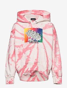 SALBYTD SWEAT-SHIRT - kapuzenpullover - coral pink