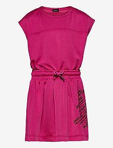 DARPEL DRESS - jurken - deep rose