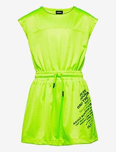 DARPEL DRESS - jurken - lime fluo