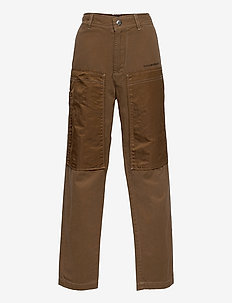 PTRENT TROUSERS - trousers - sandy brown