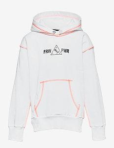 SALBYSEAM OVER SWEAT-SHIRT - hoodies - bianco