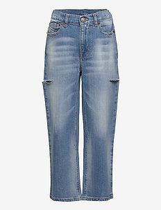 WIDEE-J-SP1 TROUSERS - jeans - denim