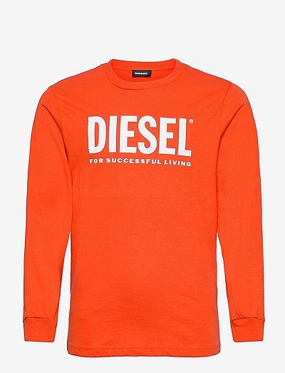 TJUSTLOGO ML T-SHIRT - langærmede t-shirts - poinciana