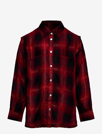 CSUNNYA SHIRT - chemises - red