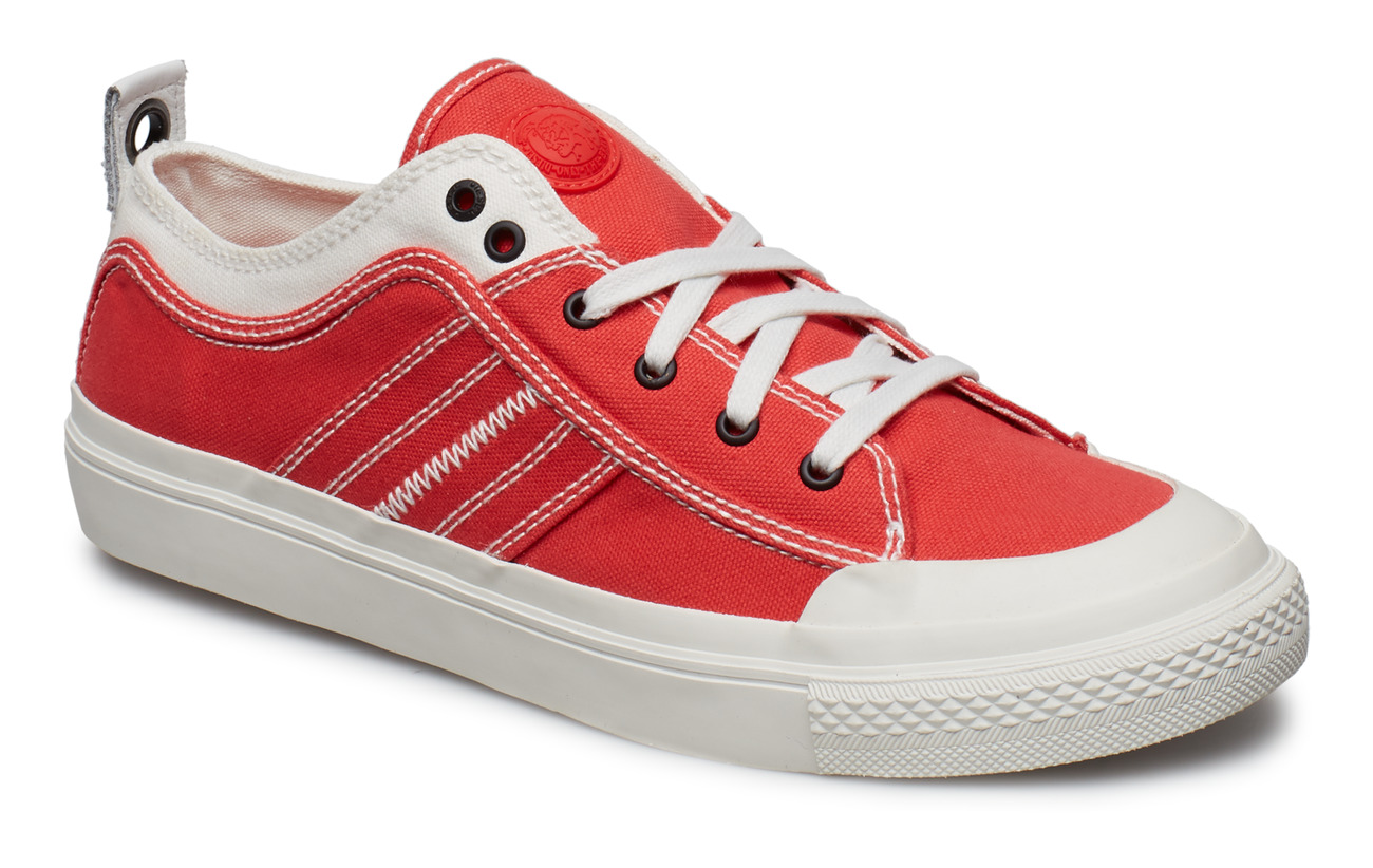 "Diesel Men ""ASTICO"" S-ASTICO LOW LAC - STAR WHITE/POPPY RED"