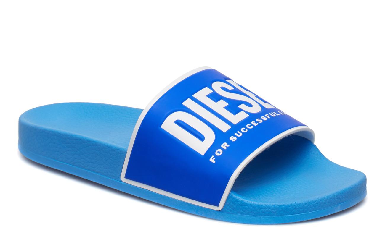 Diesel Men VALLA SA-VALLA - AZURE BLUE/STAR WHITE/TURKISH SEA/O