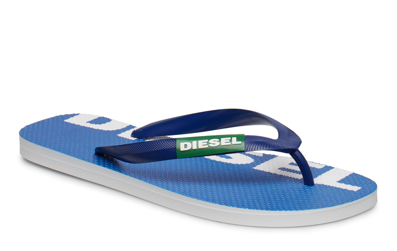 "Diesel Men ""BRIIAN"" SA-BRIIAN - sandals - TURKISH SEA/JELLY BEAN/STAR WHITE"