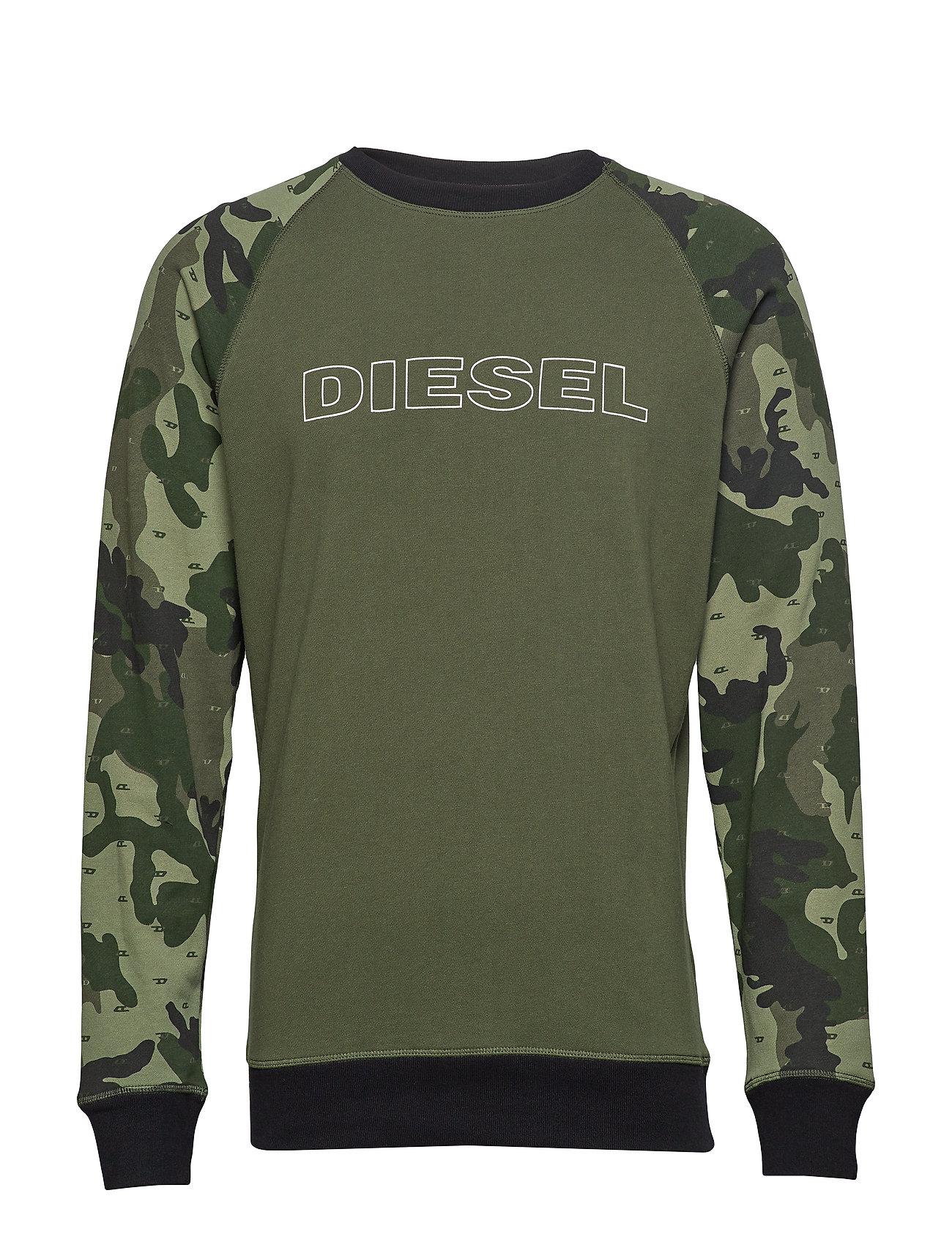 Diesel Men UMLT-MAX SWEAT-SHIRT - GREEN