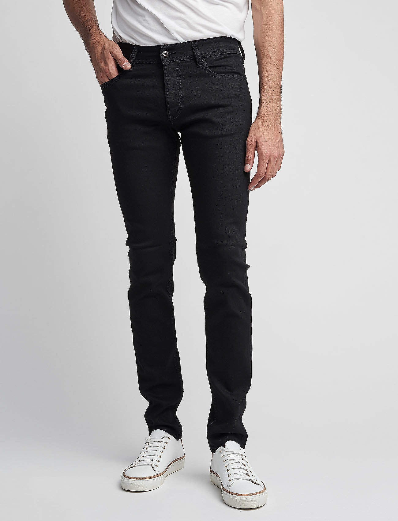 Diesel Men - SLEENKER - slim jeans - grey - 0